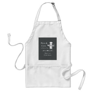 Pros & Cons of Making Food Adult Apron
