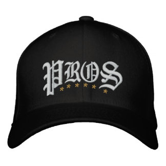 Pros Golf Embroidered Baseball Hat