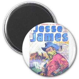 Proscrito de Jesse James Imán Para Frigorífico