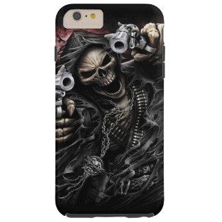 Proscrito del esqueleto funda resistente iPhone 6 plus