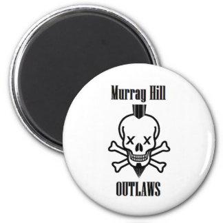 Proscritos de Murray Hill Imán Redondo 5 Cm
