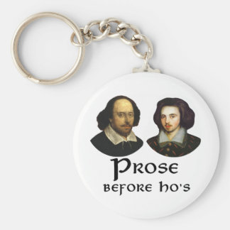Prose Before Ho's Keychain