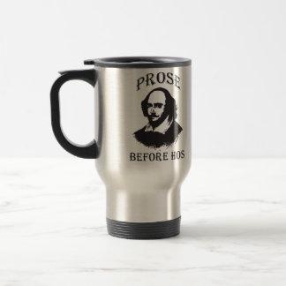 Prose Before Hos - Shakespeare Travel Mug