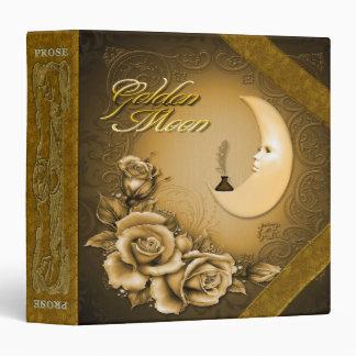 Prose/Poetry, Golden Moon - Avery Binder