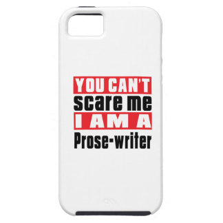 Prose-writer can't scare designs iPhone 5 cover