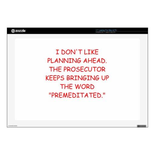 prosecuter laptop skins