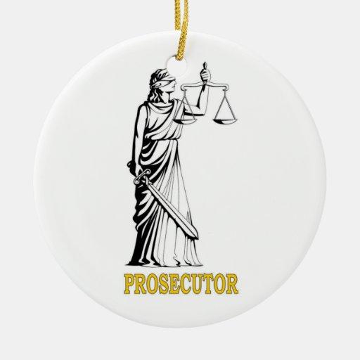 PROSECUTOR CHRISTMAS ORNAMENTS