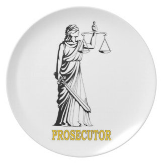 PROSECUTOR DINNER PLATE