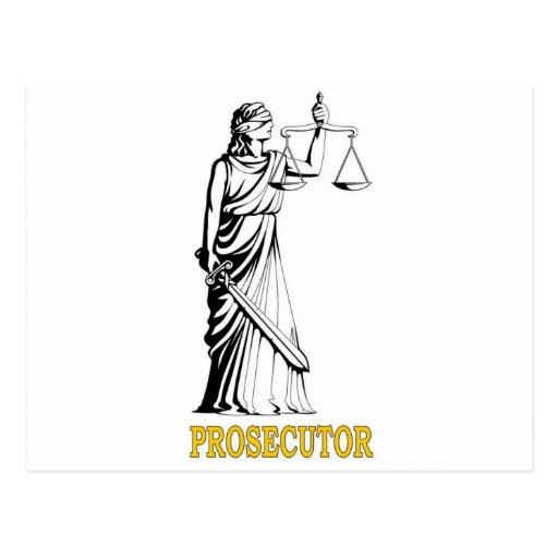 PROSECUTOR POSTCARD