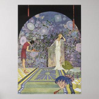 Proserpina en el palacio de Plutón Poster