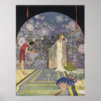 Proserpina en el palacio de Plutón Póster