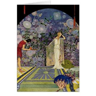 Proserpina en el palacio de Plutón Tarjetón