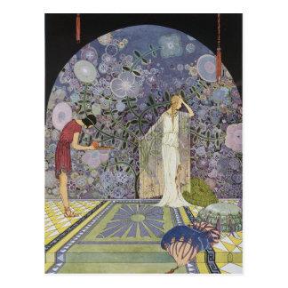 Proserpina en el palacio de Plutón Postales