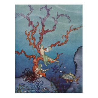 Proserpina y las ninfas de mar tarjetas postales
