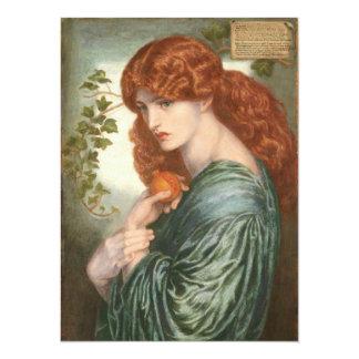 Proserpine by Dante Gabriel Rossetti 5.5x7.5 Paper Invitation Card