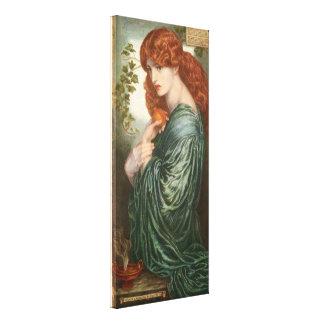 Proserpine by Dante Gabriel Rossetti Canvas Print