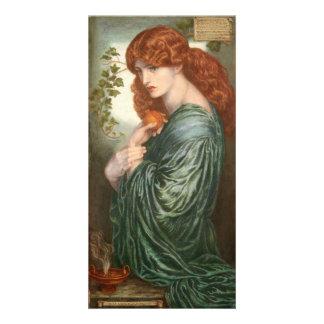 Proserpine by Dante Gabriel Rossetti Personalized Photo Card