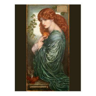 Proserpine by Dante Gabriel Rossetti Postcard