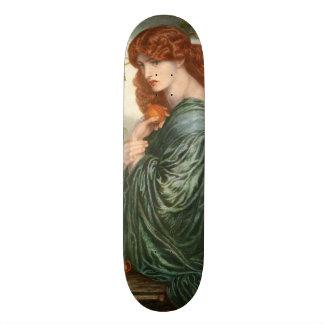 Proserpine by Dante Gabriel Rossetti Skateboard