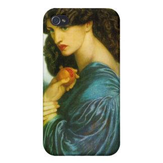 Proserpine - Dante Gabriel Rossetti iPhone 4/4S Cases