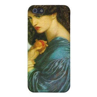 Proserpine - Dante Gabriel Rossetti iPhone 5 Carcasas