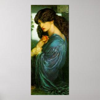 Proserpine - Dante Gabriel Rossetti Posters