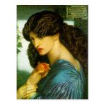 Proserpine - Dante Gabriel Rossetti Postal