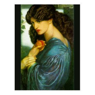 Proserpine de Dante Gabriel Rossetti Postales