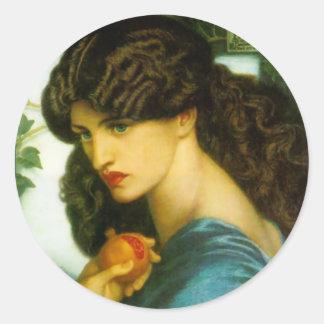 Proserpine Stickers by Dante Gabriel Rossetti