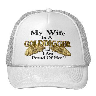 Prospección del oro gorras