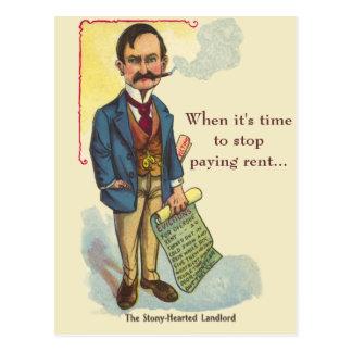Prospección mala del Homebuyer de la primera vez d Postal