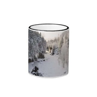 Prospect Gorge in Winter Ringer Coffee Mug