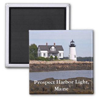 Prospect Harbor Light, Maine Magnet