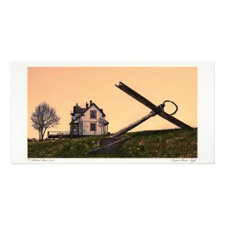Prospect Harbor Light Photo Card