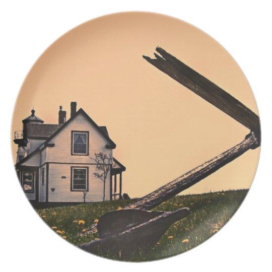 Prospect Harbor Light Plate