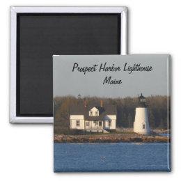 Prospect Harbor Lighthouse- Maine Magnet