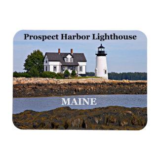 Prospect Harbor Lighthouse, Maine Photo Magnet