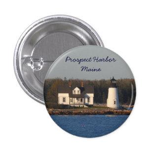 Prospect Harbor Lighthouse- Maine Pinback Button