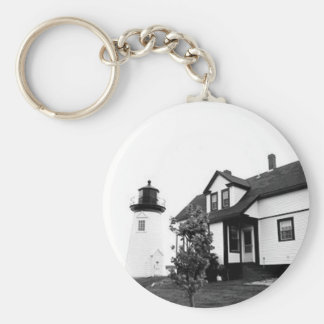 Prospect Harbor Point Lighthouse Keychain