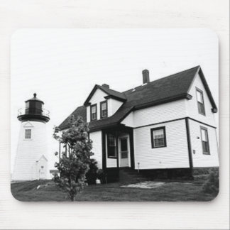 Prospect Harbor Point Lighthouse Mouse Pad