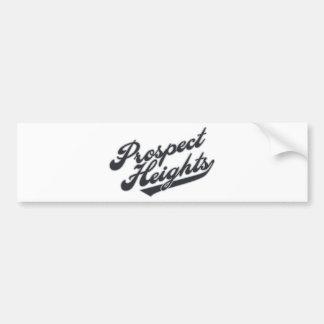 Prospect Heights Car Bumper Sticker