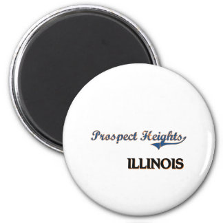 Prospect Heights Illinois City Classic 2 Inch Round Magnet