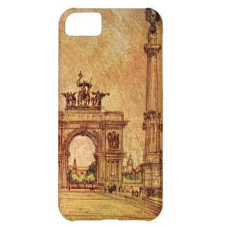 Prospect Park Arch New York City Vintage Cover For iPhone 5C