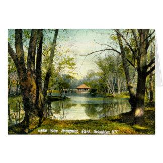 Prospect Park, Brooklyn NY, 1908 Vintage Card