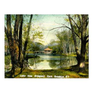 Prospect Park, Brooklyn NY, 1908 Vintage Postcard