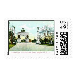 Prospect Park, Brooklyn, NY Stamp