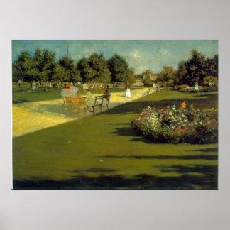 Prospect Park by William Merritt Chase Poster