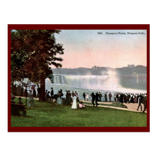 Prospect Point, Niagara Falls 1909 Vintage Postcard