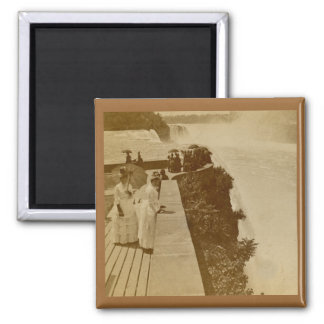 Prospect Point Niagra Falls Vintage Stereoview Magnet