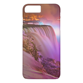 Prospect Point Night View of Niagara Falls Winter iPhone 8 Plus/7 Plus Case